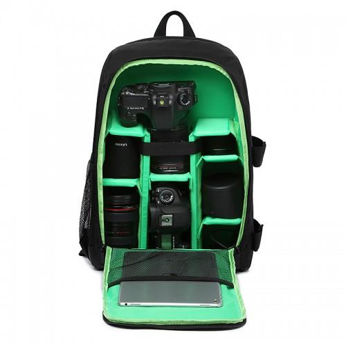 Upgrade Waterproof Digital DSLR Photo Padded Backpack