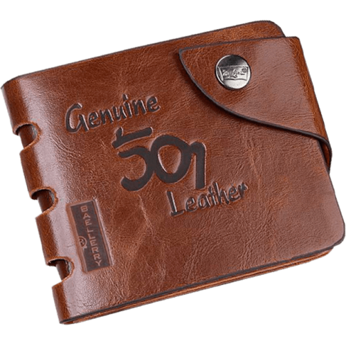 BAELLERRY Genuine 501 Leather