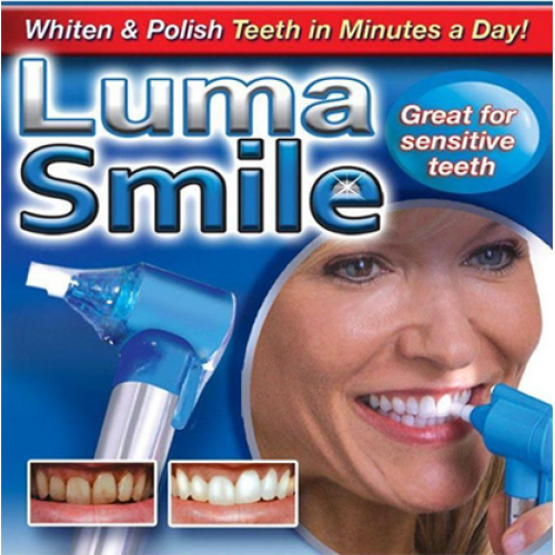 LUMA SMILE – WHITEN YOUR SMILE QUICK!