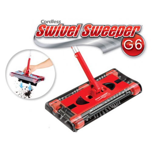 Cordless Rechargeable Swivel Sweeper – essential help in cleaning!